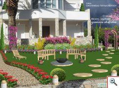 Μελέτη Σχεδίαση κήπου